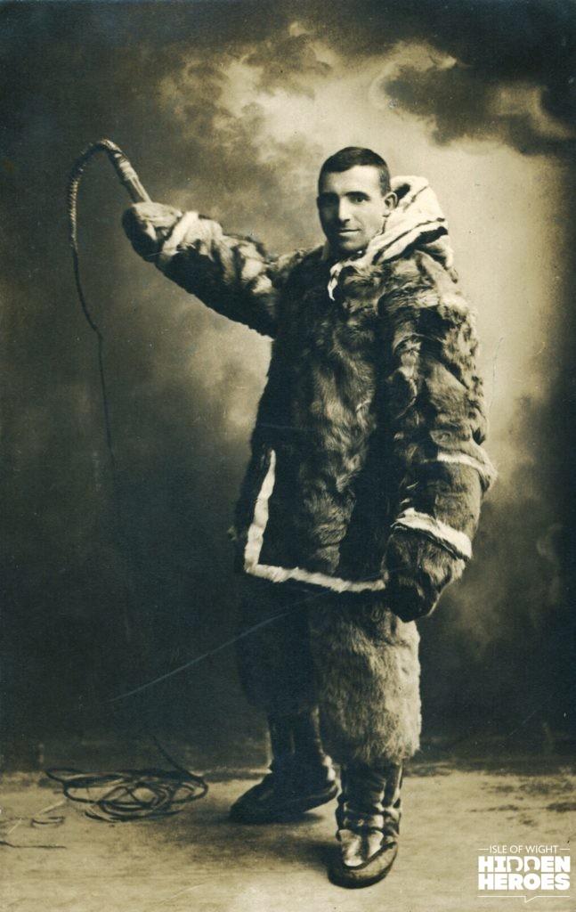 Rev Edgar Greenshield in Inuit costume