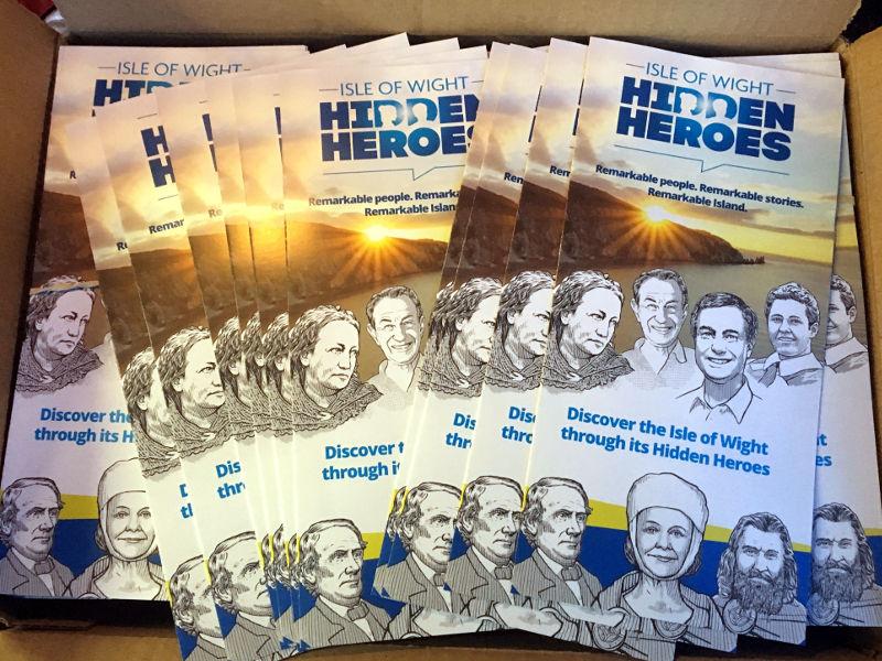 IW Hidden Heroes leaflets arrive