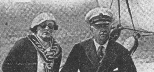 Tom Sopwith and wife