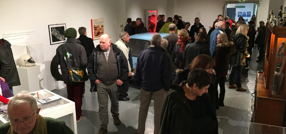 quay arts hidden heroes exhibition opening